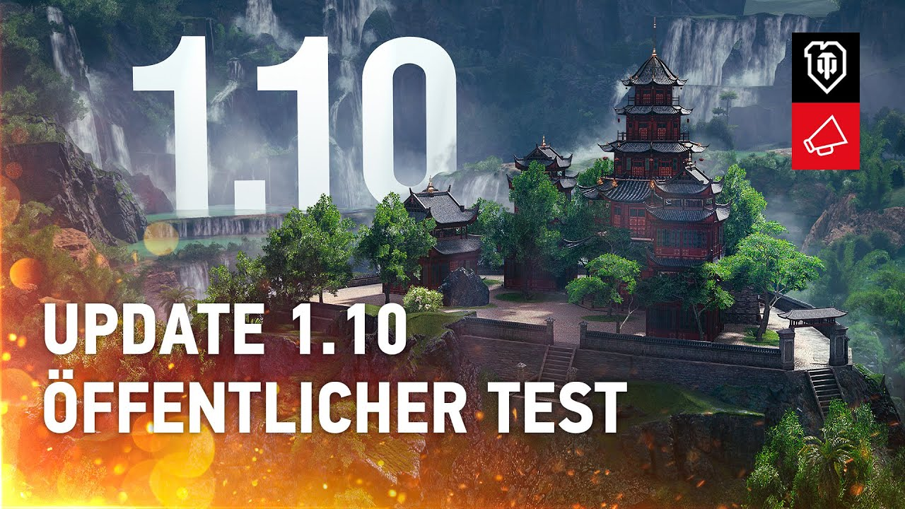 Update 1.10. Übersicht zum öffentlichen Test [World of Tanks Deutsch]