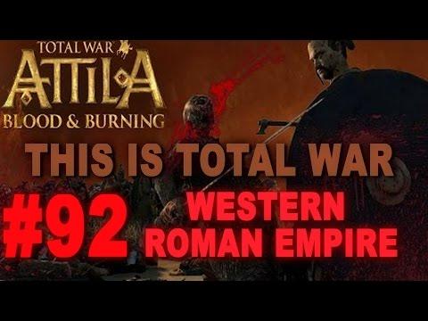 This is Total War: Attila - Legendary Western Roman Empire #92