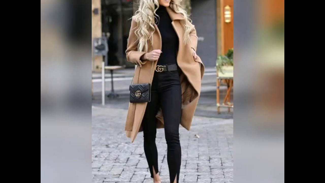 [VIDEO] - Winter outfit ideas for women's#make this winter hot by your style# 3