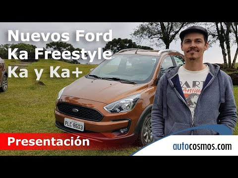 Nuevos Ford Ka Freestyle, Ka y Ka+ | Autocosmos