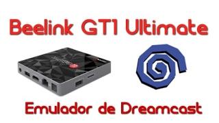 Beelink GT1 Ultimate - Teste do emulador de Dreamcast (Reicast)!!!