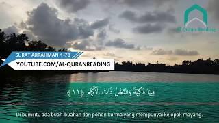Download Suara Merdu Bacaan Al quran Surat Ar Rahman Full Menyentuh Hati & Terjemahanya
