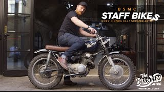 My First Custom: Ross' Honda CL77 305cc Scrambler