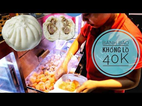 Siêu bất ngờ với Bánh bao khổng lồ 8 trứng bự nhất Sài Gòn   Saigon Travel