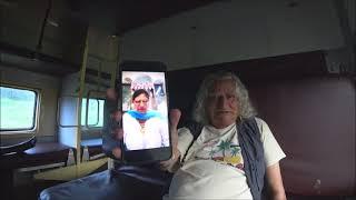450. Еле жива ужасный поезд Бангалор-Мумбай. Индия.