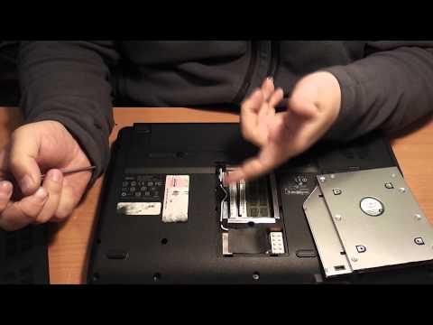 Как добавить в ноутбук второй жёсткий диск или DVD To HDD адаптер - Обзор