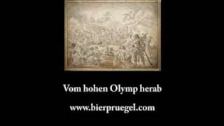 Vom hohen Olymp herab
