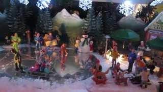 Kathy's Christmas Village 2013 Full Layout Video