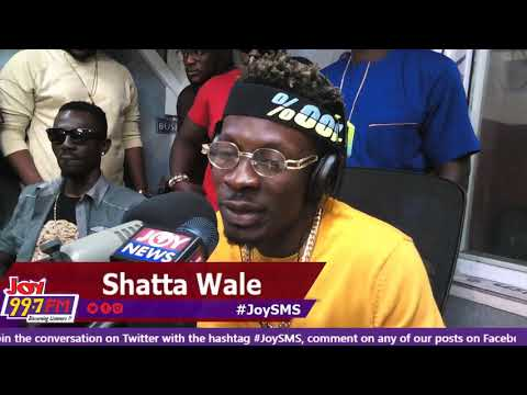 Shatta Wale - Joy SMS on Joy FM (26-10-18)