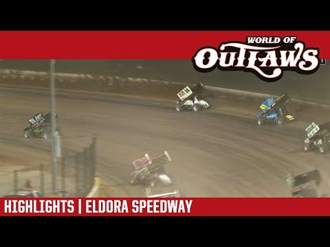 World of Outlaws Craftsman Sprint Cars Eldora Speedway October 14, 2018 | HIGHLIGHTS
