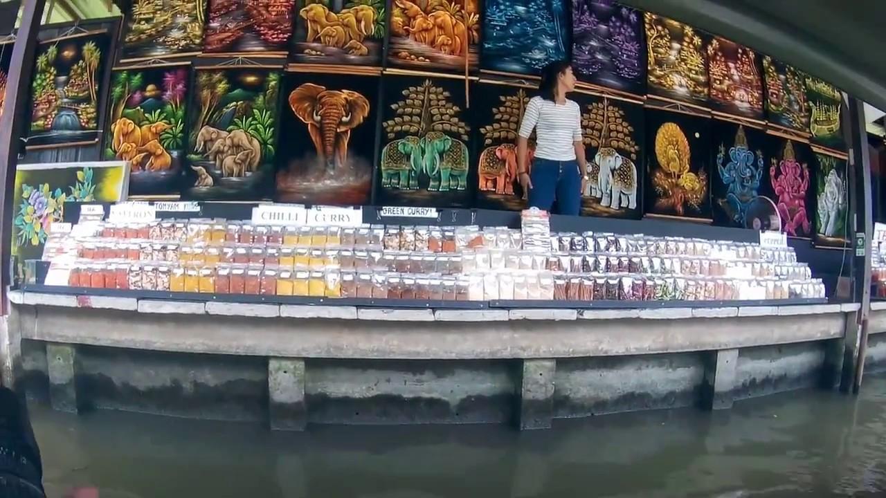 Download Thailand - Floating Market in Damnoen Saduak. Part 2