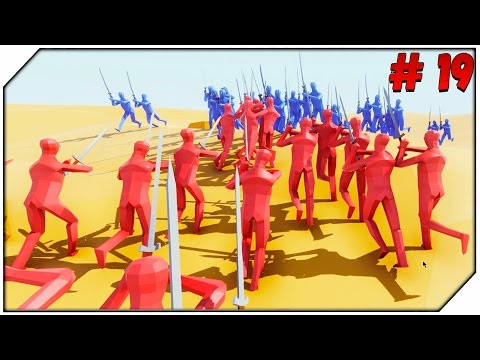 Totally Accurate Battle Simulator ➤ TABS ➤ САМУРАЙ против РЫЦАРЯ # 19