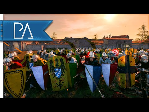 RALLY TO THE KING - Medieval Kingdoms Total War 1212AD Gameplay