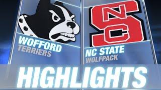 Wofford vs NC State | 2014-15 ACC Men