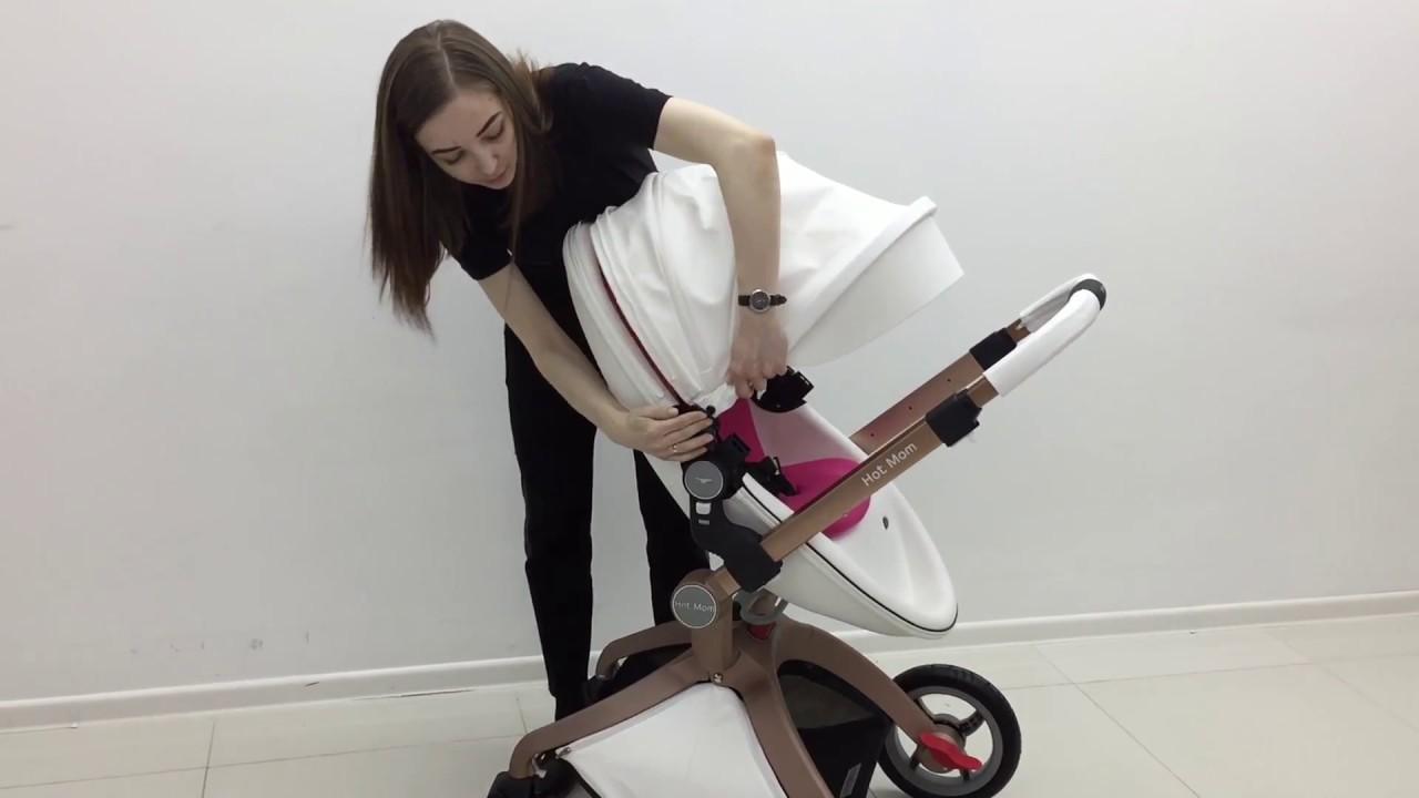 Download Видео обзор коляски Hot mom блок люльки и прогулочного блока