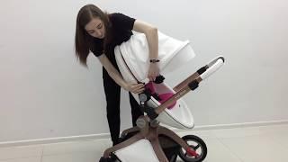 Видео обзор коляски Hot mom блок люльки и прогулочного блока