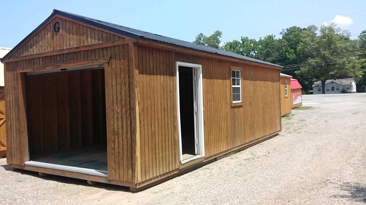 Graceland portable garages doovi for Garage building kits canada