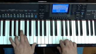Voor haar  Frans Halsema - Keyboardlessons Yamaha, Tyros, PSR or CVP