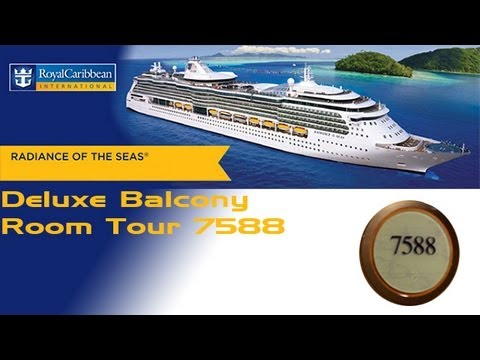 Radiance of the Seas Deluxe Balcony Room Tour