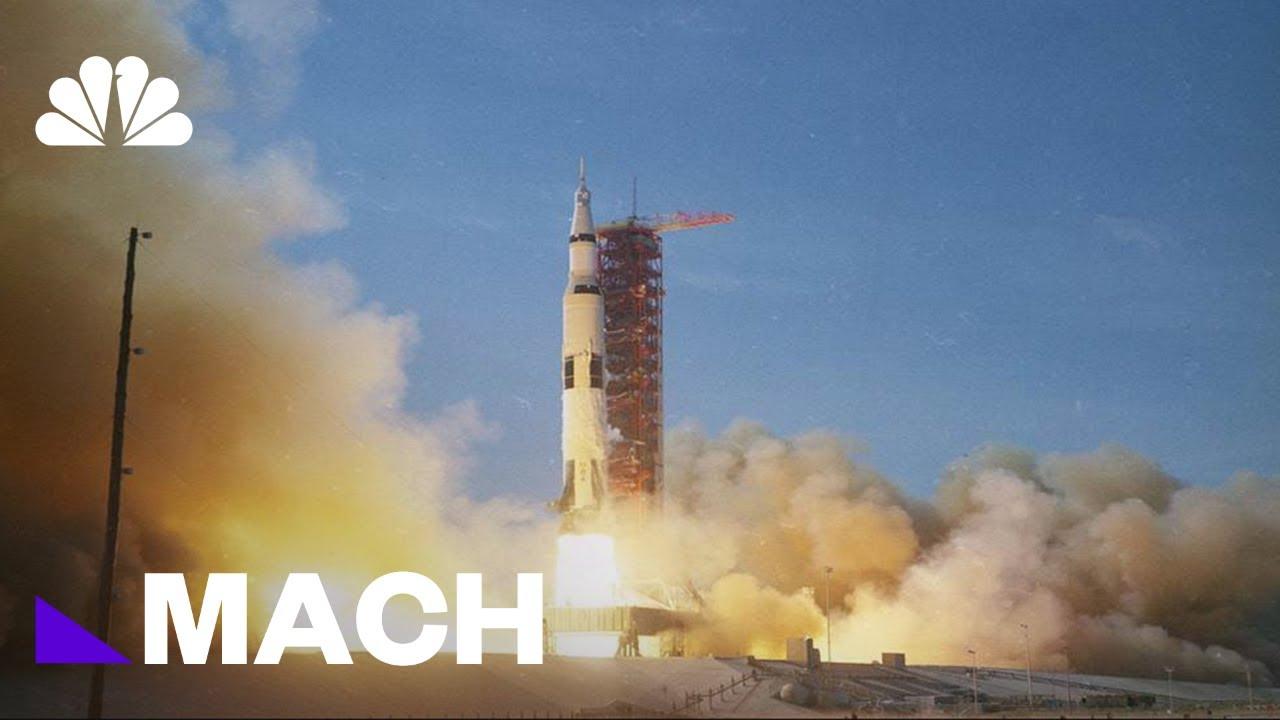 Relive The Historic Launch Of Apollo 11 | Mach | NBC News