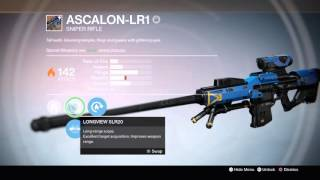 The best Sniper in destiny
