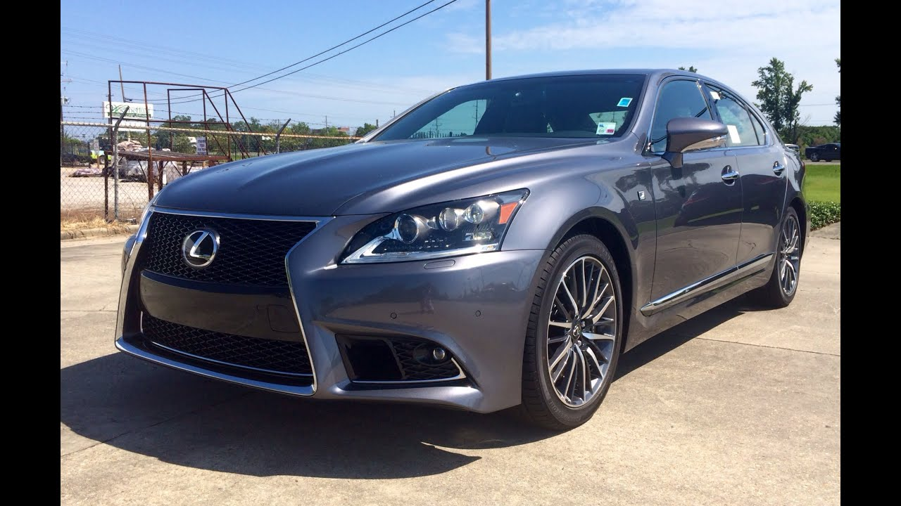 Lovely 2014 Lexus LS 460 F Sport Start Up, Exhaust And In Depth Review   YouTube