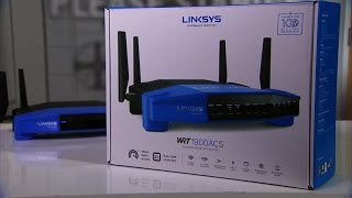 The WRT1900ACS is Linksys' new best Wi-Fi router to date