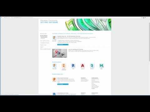 Free Download Autodesk Maya, AutoCAD, Inventor, Revit 2018