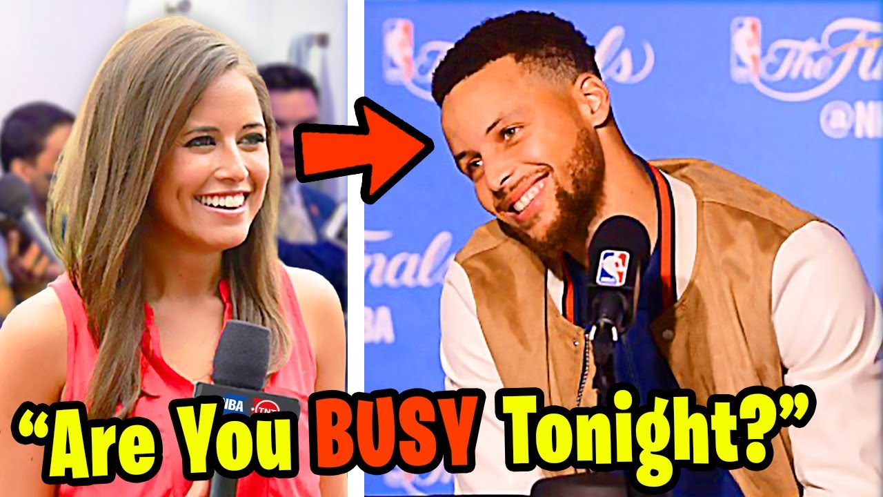 NBA Reporters Asking Stupid Questions - NBA Players React (LeBron James, Steph Curry)