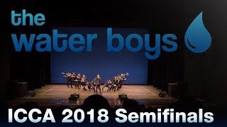 The Water Boys at the ICCA 2018 Central Semifinals