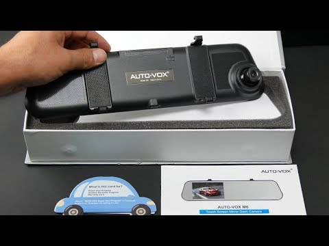 Auto-Vox M6 Touchscreen Rearview Mirror Dashcam Review