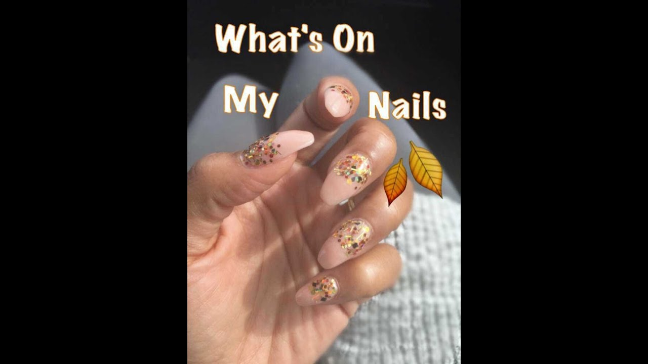 What\'s On My Nails 🍁💅🏽(Fall Nails) 2015 | DivaDollFlawless - YouTube