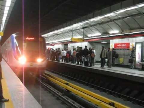 Tehran metro: line 1  مترو تهران - ایستگاه دروازه دولت - خط ۱