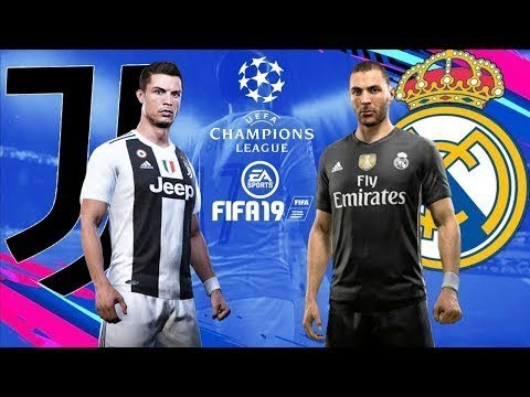 2601d57d403 fifa 19 Juventus Vs Real Madrid Xbox One Gameplay 1080p - YouTube
