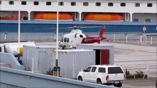 PORT OF DURBAN(PILOT TRANFER BY HELICOPTER)