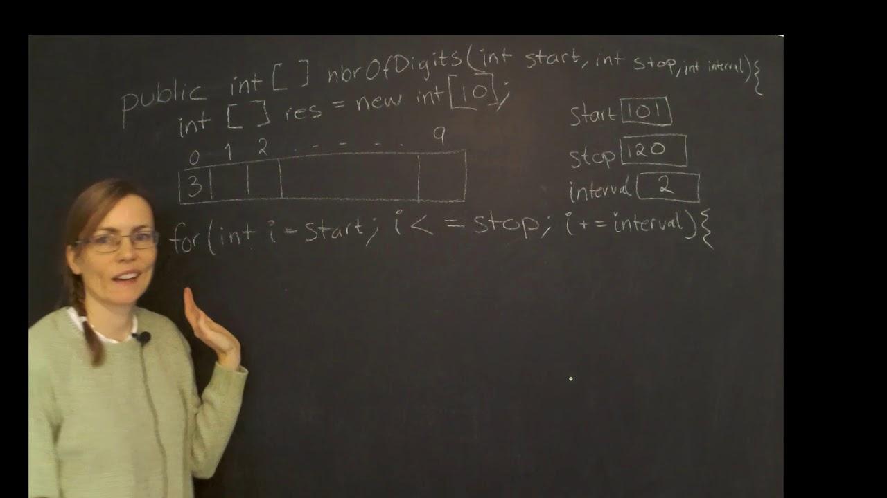 Fasadsiffror (övning med vektorer)
