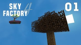 Let's Play Sky Factory: Lost Cities! Ep 7 Farms & Smeltery start