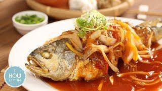 糖醋魚做法 【簡單食譜】中式料理家常菜食谱 Sweet and Sour Fish recipe│HowLiving美味生活