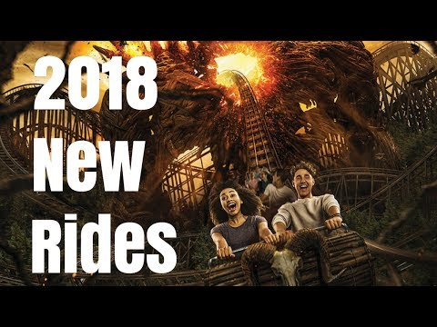 New Rides Opening in 2018 at UK Theme Parks