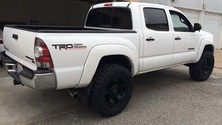 "2012 Toyota Tacoma 2.5"" lift Bilstein shocks 5100"
