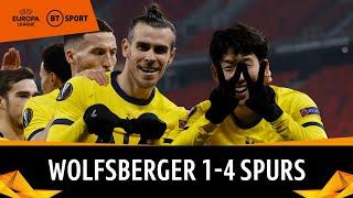 Wolfsberger vs. Tottenham (1-4) | Bale & Son do the job for Spurs | Europa League Highlights