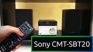 Uno stereo potentissimo! - Sony CMT-SBT20 [MrTecnologyMania]