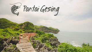 Pantai Gesing dan Pantai Buron Gunungkidul