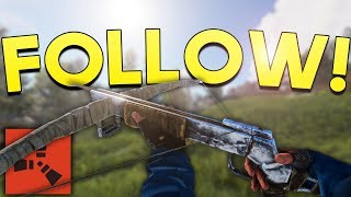 FOLLOWING THE ENEMY! - Rust SOLO Survival #5