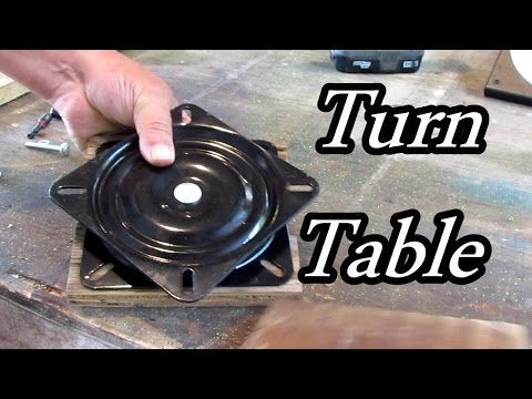 Arts and Crafts Lazy Susan Table