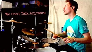 We Don't Talk Anymore - Charlie Puth ft. Selena Gomez - Drum Cover by Matt Butzen
