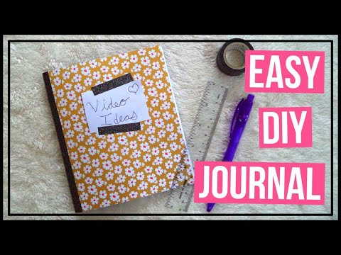 Easy DIY Journal!