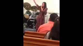 """Evelyn Capone - Espiritu Santo de Rocio Crooke - Iglesia de Dios """"Bajo el Manto de la Unción"""" USA"""