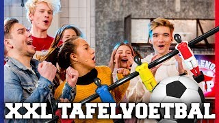XXL LEVENSGROOT TAFELVOETBAL | Free-for-all Friday | Challenges Cup #45