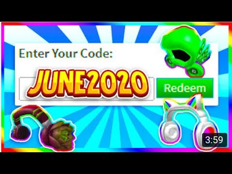 HERE ARE *NEW* WORKING PROMO CODES ON ROBLOX!! (JUNE 2020)
